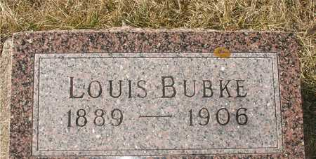 BUBKE, LOUIS - Ida County, Iowa | LOUIS BUBKE