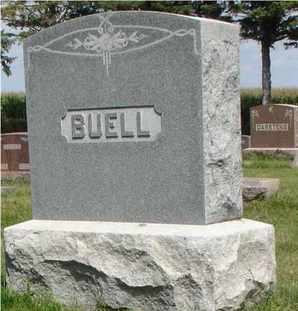 BUELL, FAMILY MARKER - Ida County, Iowa | FAMILY MARKER BUELL