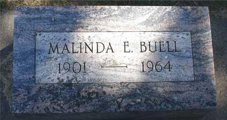BUELL, MALINDA E. - Ida County, Iowa | MALINDA E. BUELL
