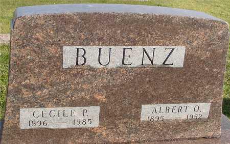 BUENZ, ALBERT & CECILE P. - Ida County, Iowa | ALBERT & CECILE P. BUENZ
