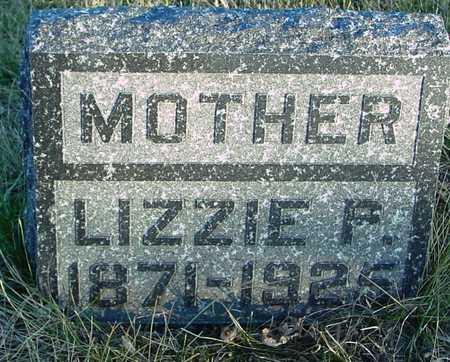 BUENZ, LIZZIE F. - Ida County, Iowa | LIZZIE F. BUENZ