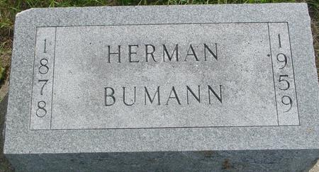 BUMANN, HERMAN - Ida County, Iowa | HERMAN BUMANN