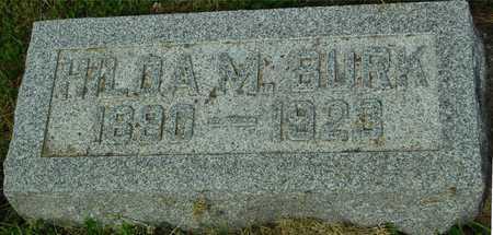 BURK, HILDA M. - Ida County, Iowa | HILDA M. BURK