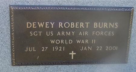 BURNS, DEWEY ROBERT - Ida County, Iowa | DEWEY ROBERT BURNS