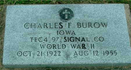 BUROW, CHARLES F. - Ida County, Iowa | CHARLES F. BUROW