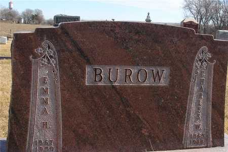 BUROW, CHARLES W. & EMMA - Ida County, Iowa | CHARLES W. & EMMA BUROW