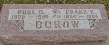 BUROW, ROSE - Ida County, Iowa | ROSE BUROW