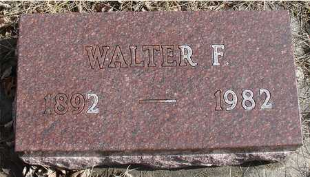 BUROW, WALTER F. - Ida County, Iowa | WALTER F. BUROW