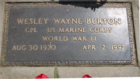 BURTON, WESLEY - Ida County, Iowa | WESLEY BURTON