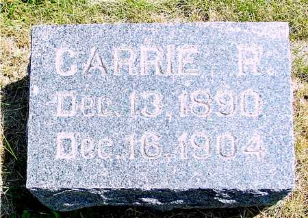 BUSH, CARRIE R. - Ida County, Iowa | CARRIE R. BUSH