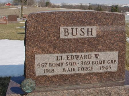 BUSH, LT. EDWARD W. - Ida County, Iowa | LT. EDWARD W. BUSH
