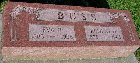 BUSS, ERNEST & EVA B. - Ida County, Iowa | ERNEST & EVA B. BUSS
