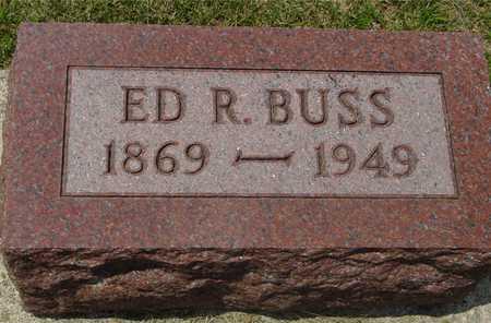 BUSS, ED R. - Ida County, Iowa | ED R. BUSS