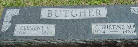 BUTCHER, CLEMENT & CHRISTINE - Ida County, Iowa | CLEMENT & CHRISTINE BUTCHER