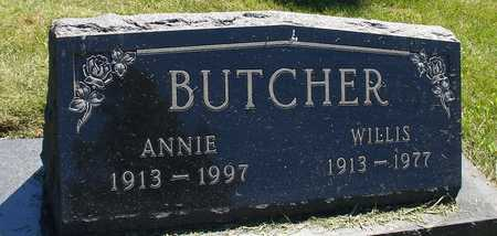 BUTCHER, WILLIS & ANNIE - Ida County, Iowa | WILLIS & ANNIE BUTCHER