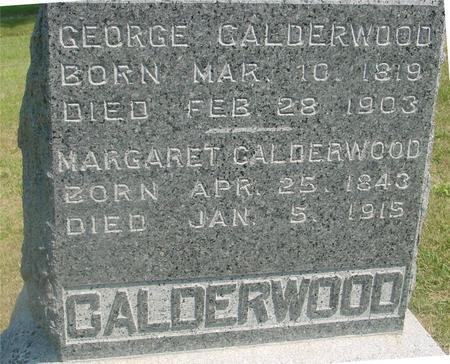 CALDERWOOD, GEORGE & MARGARET - Ida County, Iowa | GEORGE & MARGARET CALDERWOOD