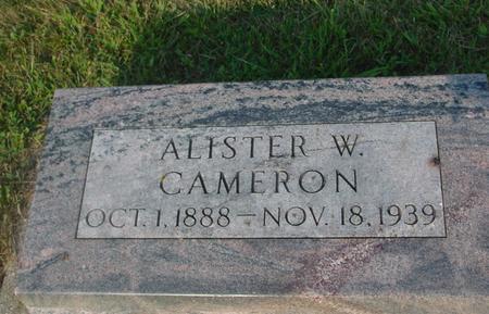 CAMERON, ALISTER W. - Ida County, Iowa | ALISTER W. CAMERON