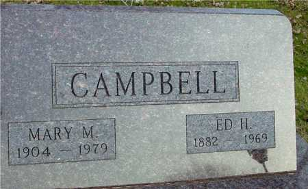 CAMPBELL, ED H. & MARY - Ida County, Iowa | ED H. & MARY CAMPBELL