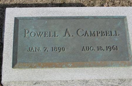 CAMPBELL, POWELL A. - Ida County, Iowa | POWELL A. CAMPBELL