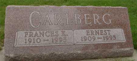 CARLBERG, ERNEST & FRANCES - Ida County, Iowa | ERNEST & FRANCES CARLBERG