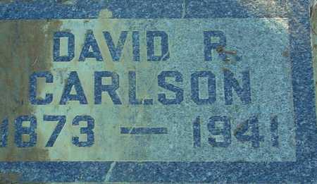 CARLSON, DAVID R. - Ida County, Iowa | DAVID R. CARLSON