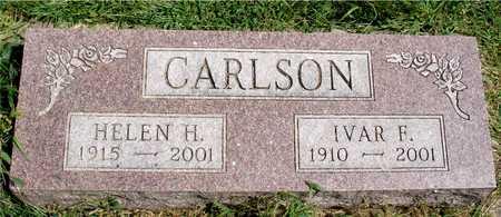 CARLSON, IVAR & HELEN - Ida County, Iowa | IVAR & HELEN CARLSON