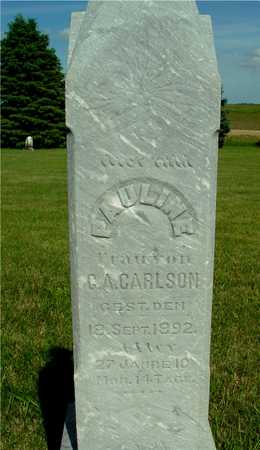 CARLSON, PAULINE - Ida County, Iowa | PAULINE CARLSON