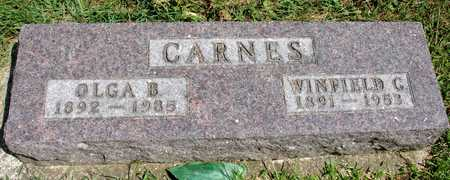 CARNES, WINFIELD & OLGA - Ida County, Iowa | WINFIELD & OLGA CARNES