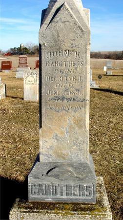 CAROTHERS, JOHN K. - Ida County, Iowa | JOHN K. CAROTHERS