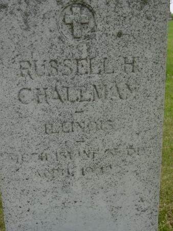 CHALLMAN, RUSSELL H. - Ida County, Iowa | RUSSELL H. CHALLMAN