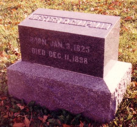 GLOVER CHAPMAN, HESTER - Ida County, Iowa | HESTER GLOVER CHAPMAN