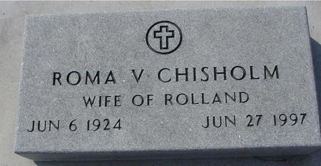 CHISHOLM, ROMA V. - Ida County, Iowa | ROMA V. CHISHOLM