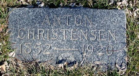CHRISTENSEN, ANTON - Ida County, Iowa | ANTON CHRISTENSEN