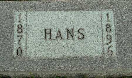 CHRISTENSEN, HANS - Ida County, Iowa | HANS CHRISTENSEN