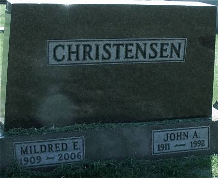 CHRISTENSEN, JOHN A. - Ida County, Iowa | JOHN A. CHRISTENSEN