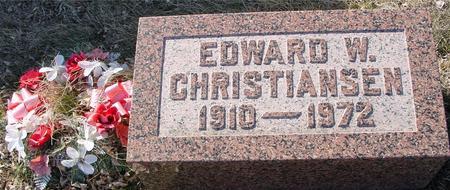 CHRISTIANSEN, EDWARD W. - Ida County, Iowa | EDWARD W. CHRISTIANSEN