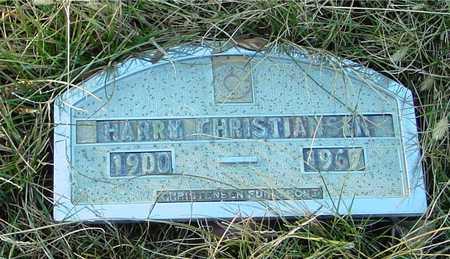 CHRISTIANSEN, HARRY - Ida County, Iowa | HARRY CHRISTIANSEN