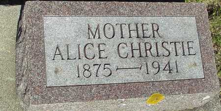 CHRISTIE, ALICE - Ida County, Iowa | ALICE CHRISTIE