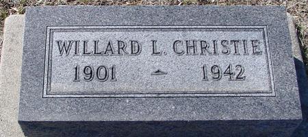 CHRISTIE, WILLARD L. - Ida County, Iowa | WILLARD L. CHRISTIE