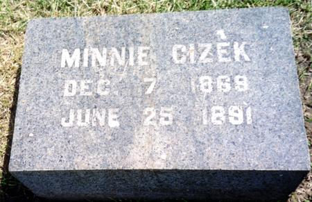 CIZEK, MINNIE - Ida County, Iowa | MINNIE CIZEK