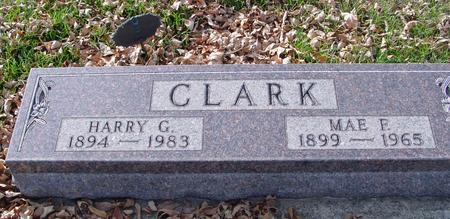 CLARK, HARRY & MAE - Ida County, Iowa | HARRY & MAE CLARK
