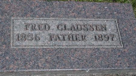 CLAUSSEN, FRED - Ida County, Iowa | FRED CLAUSSEN