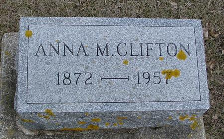 CLIFTON, ANNA M. - Ida County, Iowa | ANNA M. CLIFTON