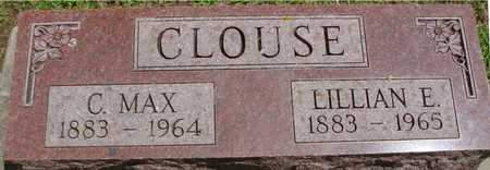 CLOUSE, C. MAX & LILLIAN E. - Ida County, Iowa | C. MAX & LILLIAN E. CLOUSE