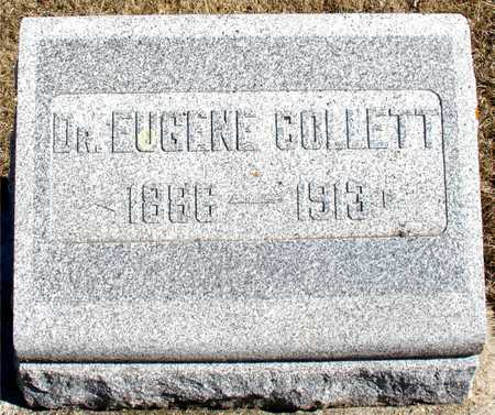 COLLETT, DR. EUGENE - Ida County, Iowa | DR. EUGENE COLLETT