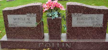 COLLIN, BURDETTE & MYRTLE - Ida County, Iowa | BURDETTE & MYRTLE COLLIN
