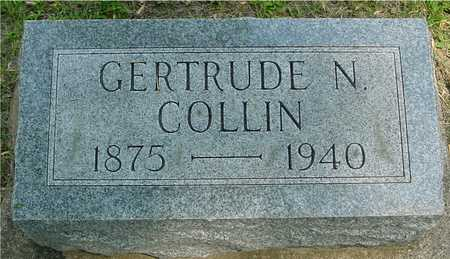 COLLIN, GERTRUDE N. - Ida County, Iowa | GERTRUDE N. COLLIN
