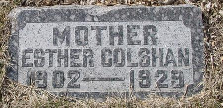 COLSHAN, ESTHER - Ida County, Iowa | ESTHER COLSHAN