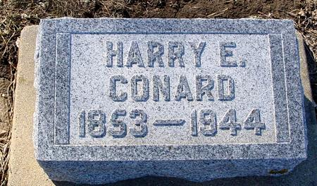CONARD, HARRY E. - Ida County, Iowa | HARRY E. CONARD
