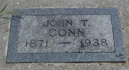 CONN, JOHN T. - Ida County, Iowa | JOHN T. CONN